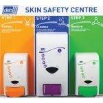 Deb 3-Step Skin Protection Centre