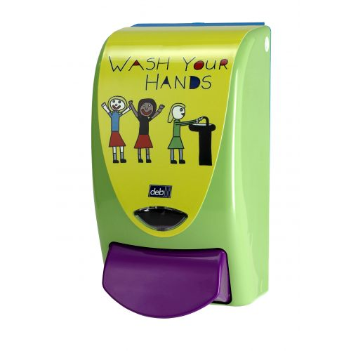 'Now wash your hands' Dispenser