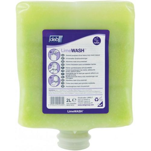 Deb® Lime WASH Industrial Hand Cleanser