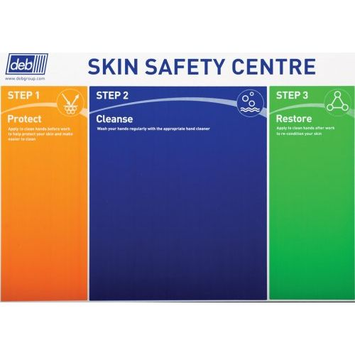 Deb 3-Step Skin Protection Centre - Board Only